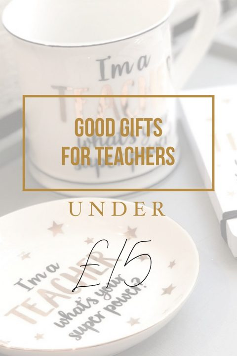 Good Gifts For Teachers