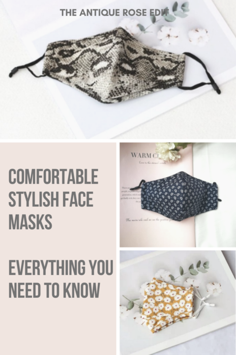 Comfortable, stylish face masks. Everything you need to know.