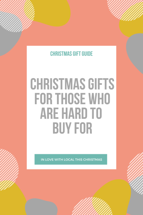 Christmas gifts for those who are hard to buy for
