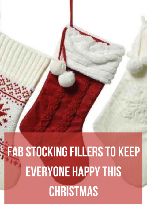 Fab Stocking Fillers to keep everyone happy this Christmas