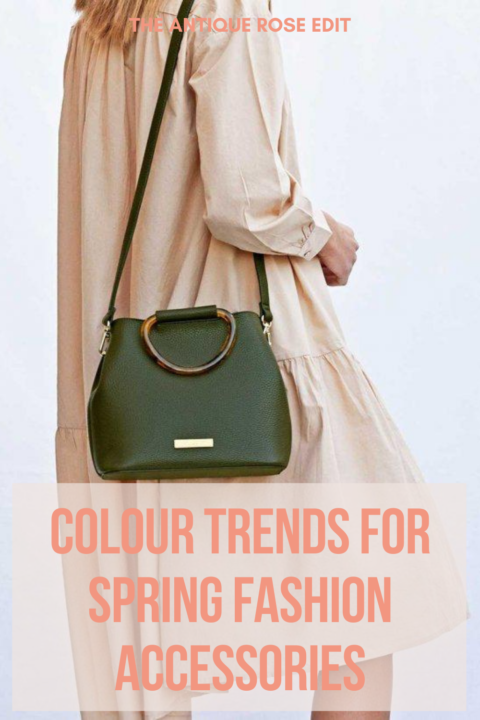Colour trends for Spring fashion accessories