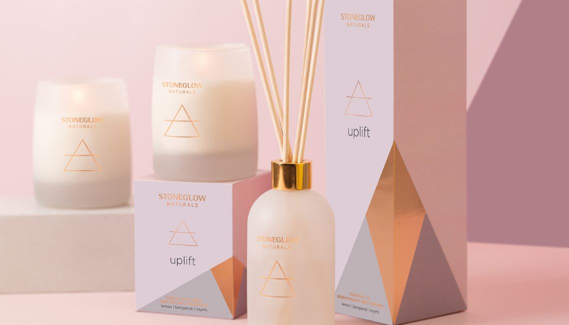 Naturals Essential Oil Candles & Diffusers
